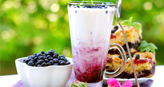 Blueberry Milkshake Recipe