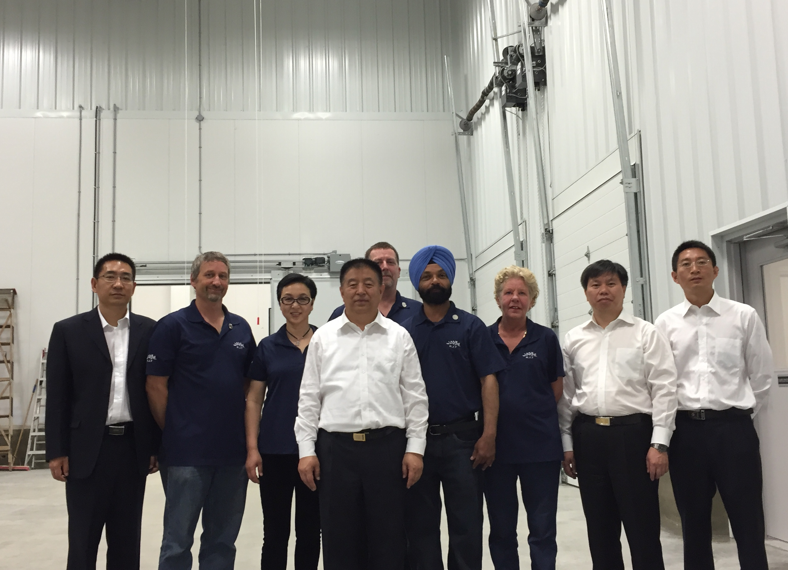 A delegation of State Administration for Industry and Commerce of China visited R.J.T Blueberry Park